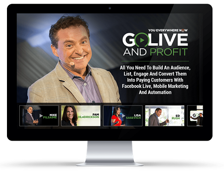 Go Live and Profit with Mike Koenigs
