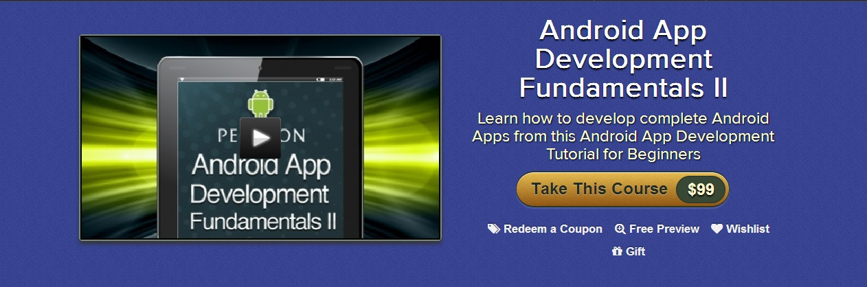 Android App Development Fundamentals II, Second Edition Video Training
