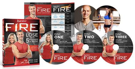 Dr Josh Axe - BurstFIT Fire (DVDs)