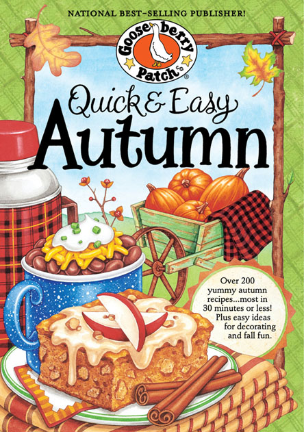 Gooseberry Patch - Quick & Easy Autumn Recipes (EPUB)