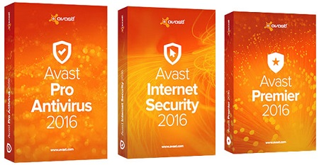 Avast! Pro Antivirus, Internet Security & Premier 17.1.3394.0