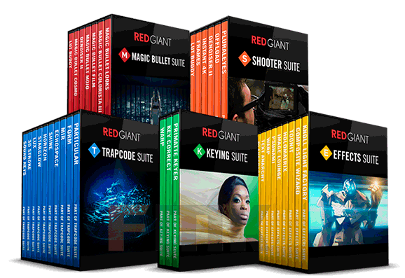 Red Giant Complete Suite 02.2017 For Adobe Cs5 Cc 2017