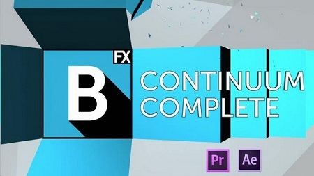 Boris Continuum Complete 10.0.5 for Adobe After Effects & Premiere Pro