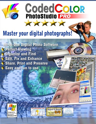 Codedcolor Photostudio Pro v7.5.5.0 With Clipart Content