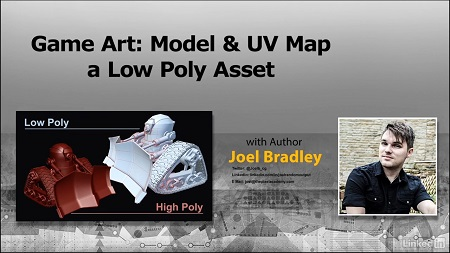 Game Art: Model & UV Map a Low Poly Character with Joel Bradley
