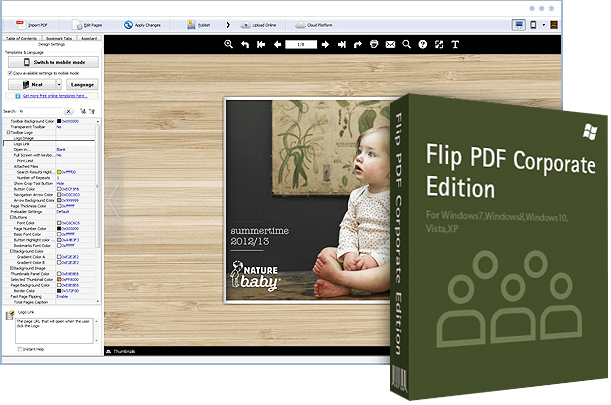 Flip Pdf Corporate Edition v2.4.7.6 Multilingual (Portable)