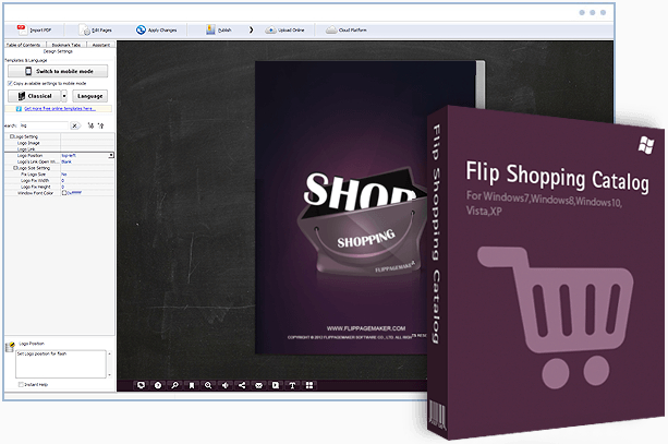 Flipbuilder Flip Shopping Catalog v2.4.7.6 Multilingual