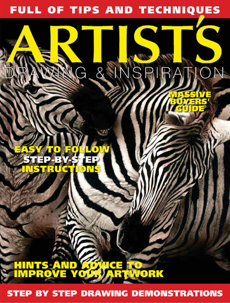 Artists Drawing and Inspiration - Issue 24 2017