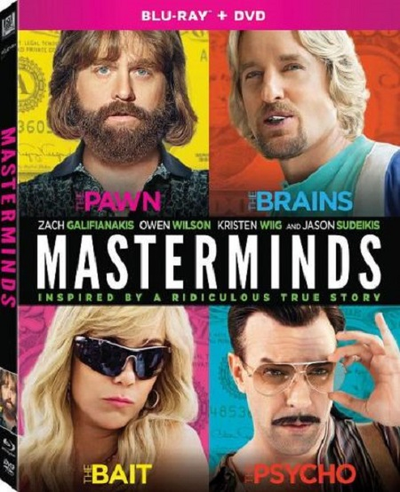 Masterminds (2016) BRRip x264 720p-NPW
