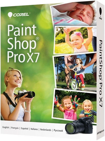 Corel PaintShop Pro X7 17.4.0.11 Retail Multilingual + Ultimate Pack