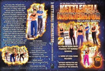 Lauren Brooks Fitness - Kettlebell Incinerator DVD
