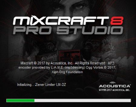 Acoustica Mixcraft Pro Studio 8.0 Build 382 Multilingual