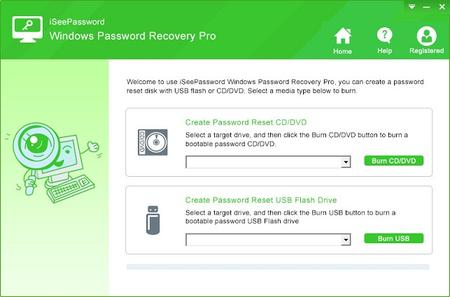 iSeePassword Windows Password Recovery Pro 2.6.2.2 Portable