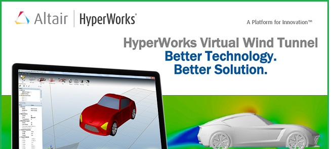 Altair Hyperworks Virtual Wind Tunnel v2017.0