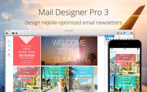 Mail Designer Pro v3.3.0 Multilangual (Mac OSX)