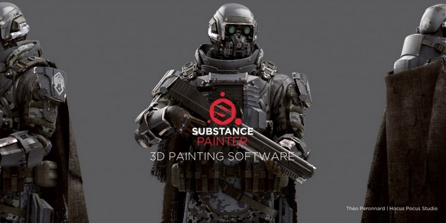 Allegorithmic Substance Painter v2.5.1.1498