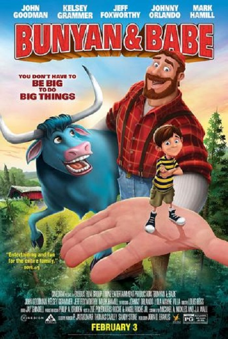 Bunyan and Babe (2017) 1080p WEB-DL DD5.1 H264-FGT