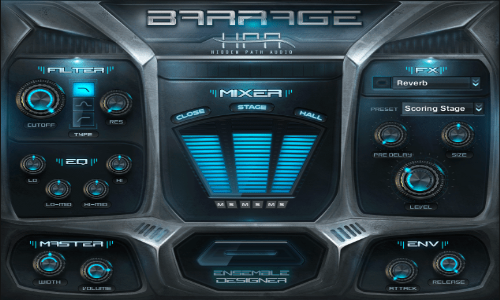 Hidden Path Audio BARRAGE KONTAKT-SYNTHiC4TE
