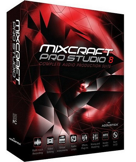 Acoustica Mixcraft Pro Studio v8.0 Build 382 Multilingual