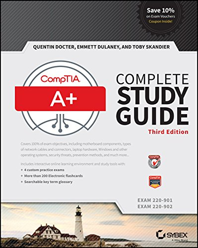 Quentin Docter - CompTIA A+ Complete Study Guide: Exams 220-901 and 220-902, 3rd Edition (EPUB)