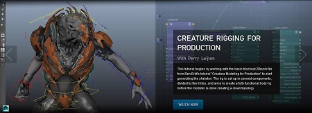 Creature Rigging for Production with Perry Leijten