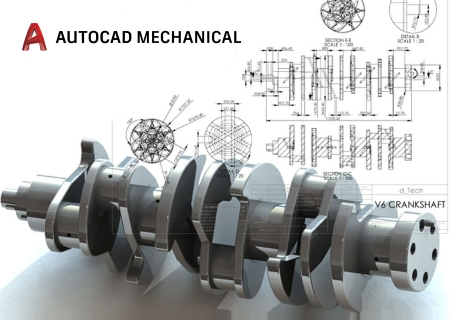 Autodesk AutoCAD Mechanical 2018 with Help and Templates (x32x64)