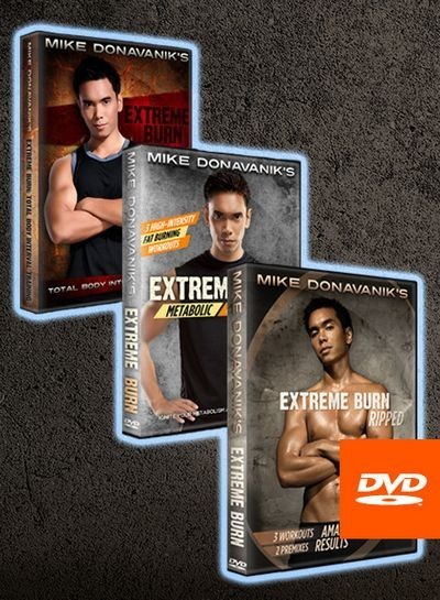 Mike Donavanik - Extreme Burn Workout DVDs