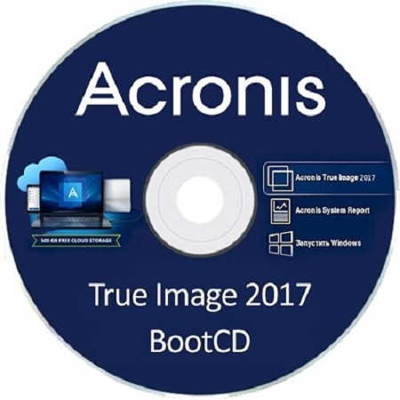 Acronis True Image 2017 20.0 Build 8053 Bootable ISO