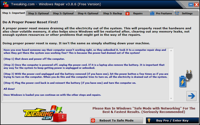 Windows Repair Free 3.9.29 + Portable