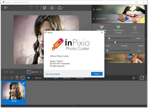Avanquest InPixio Photo Cutter v7.3.6312