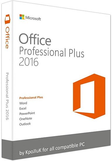 Microsoft Office 2016 Professional Plus + Visio Pro + Project Pro 16.0.4498.1000