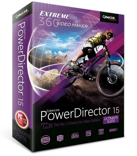 CyberLink PowerDirector Ultimate Suite 15.0.2509.0 Multilingual