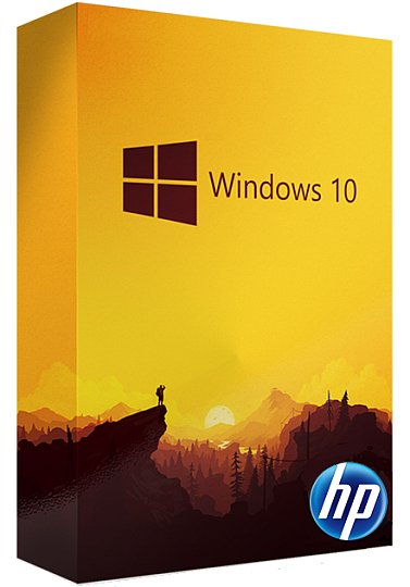 Windows 10 Pro X64 HP OEM ISO Pre-Activated