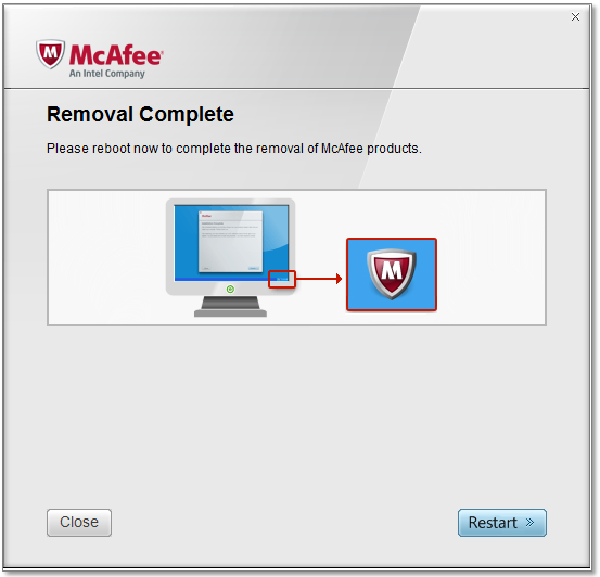 McAfee Consumer Product Removal Tool 10.0.107.0