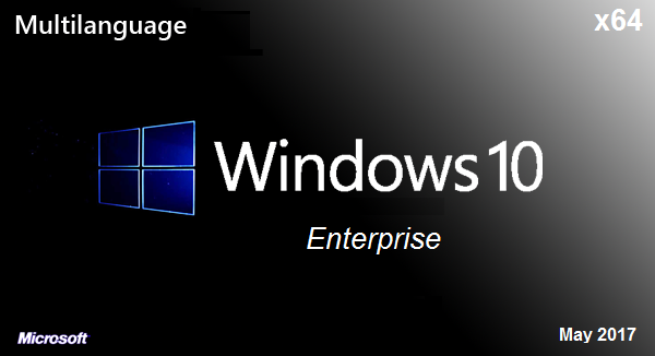 Windows 10 Enterprise (X64) v1607 Build 14393.1198 LTSB Multi-18 May 2017