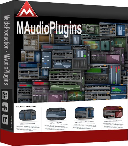 MeldaProduction MAudioPlugins 11.00e (x86/x64)