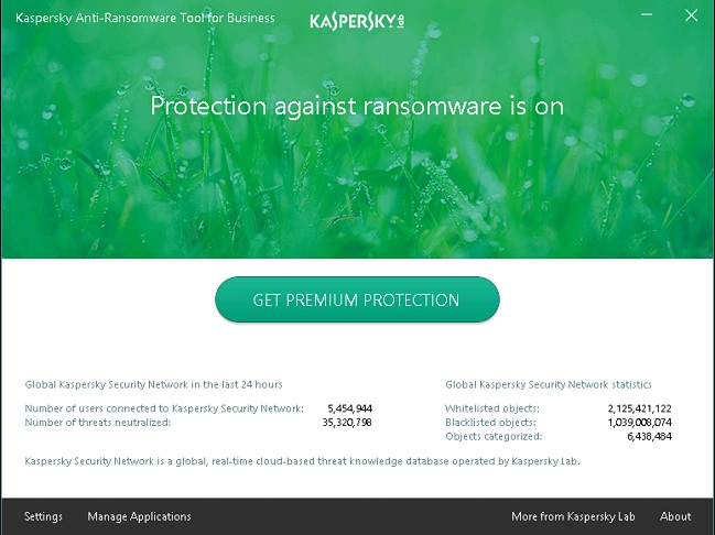Kaspersky Anti-Ransomware Tool for business 1.1.31
