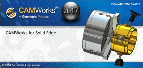 CAMWorks 2017 SP1 Multilanguage for Solid Edge ST8-ST9 180915