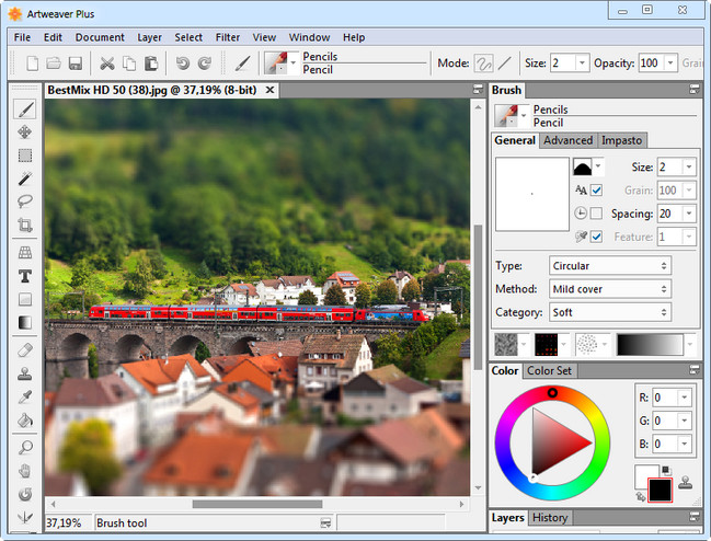 Artweaver Plus 6.0.3.14420 (x86/x64) Multilingual + Portable