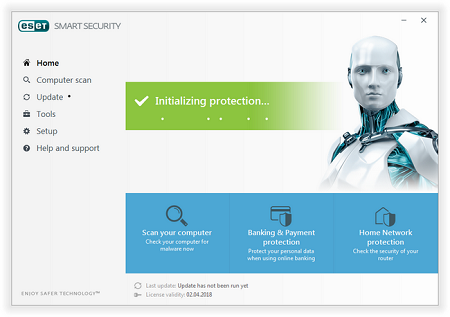 ESET NOD32 Antivirus & Smart Security v10.1.210.0