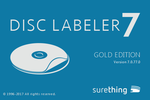 SureThing Disk Labeler Deluxe Gold 7.0.77.0 + Portable