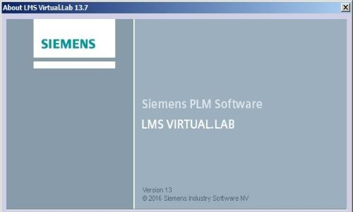 Siemens LMS Virtual.Lab Rev 13.7 (x64) Multilingual