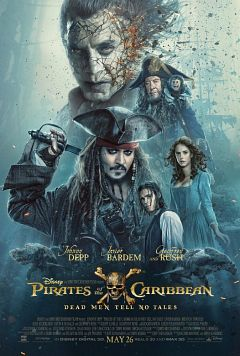 Pirates of the Caribbean Dead Men Tell No Tales 2017 HC 1080P HDCAM x264-NoGRP
