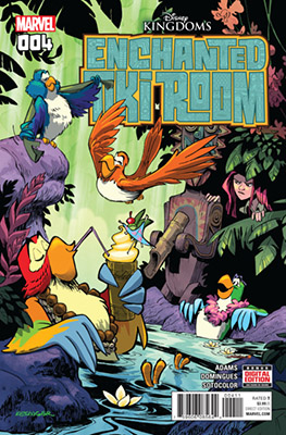 Enchanted Tiki Room #4 (of 5) (2017)