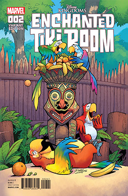 Enchanted Tiki Room #2 (of 5) (2017)