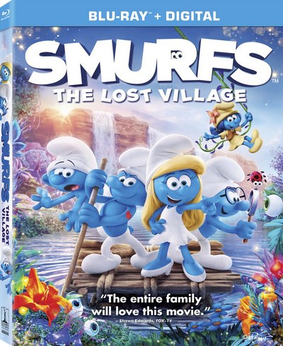 Smurfs The Lost Village (2017) BRRip XviD AC3-EVO