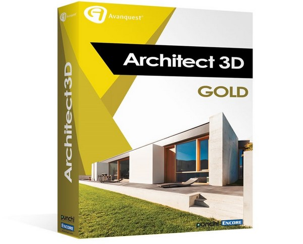 Avanquest Architect 3D Gold 2017 19.0.2