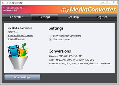 ConsumerSoft My Media Converter 1.1.0.0 + Portable
