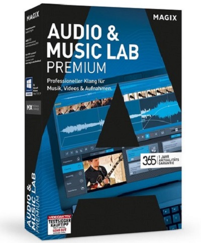 MAGIX Audio & Music Lab 2017 Premium 22.2.0.53