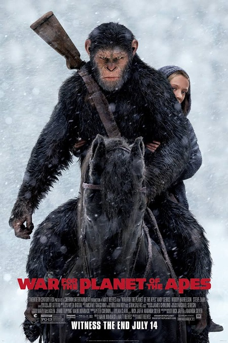 War For The Planet Of The Apes 2017 HDCAM 800MB